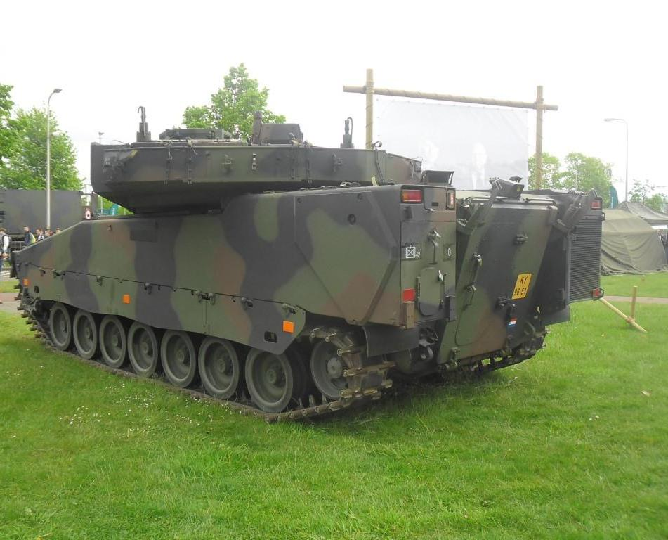 cv90 armored fighting vehicle  army sweden  netherlands