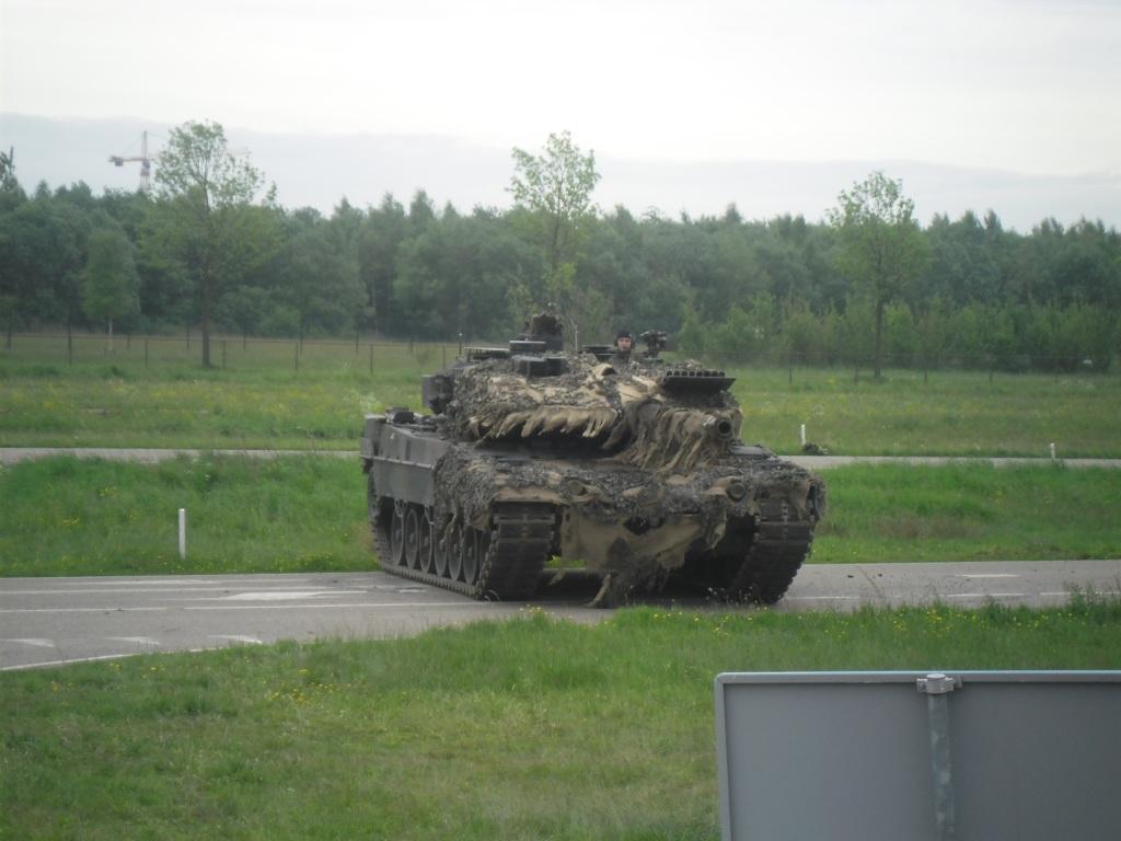 moderne militaire voertuigen