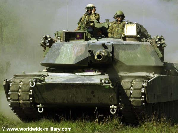 ABRAMS-ძირითადი საბრძოლო ტანკი (აშშ)