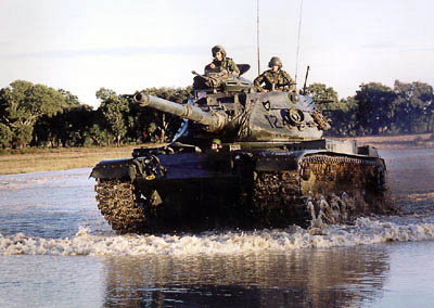 Usa Tank M60 Patton Army Israel