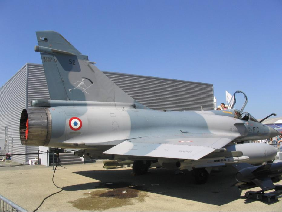 Mirage 2000 C/B/E/N/D Air Force, France, India, Greece