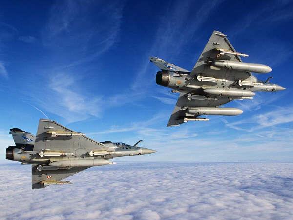 Mirage 2000 C B E N D Straaljager Luchtmacht Frankrijk