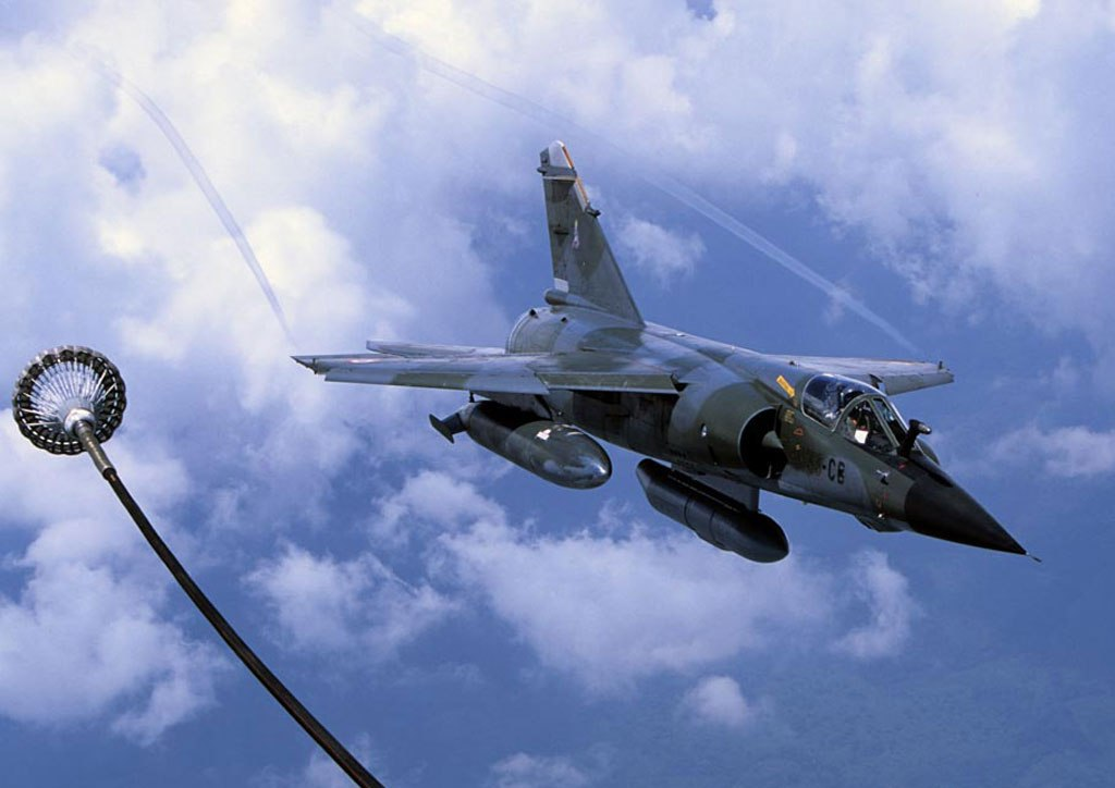 Mirage F-1 Fighter jet...