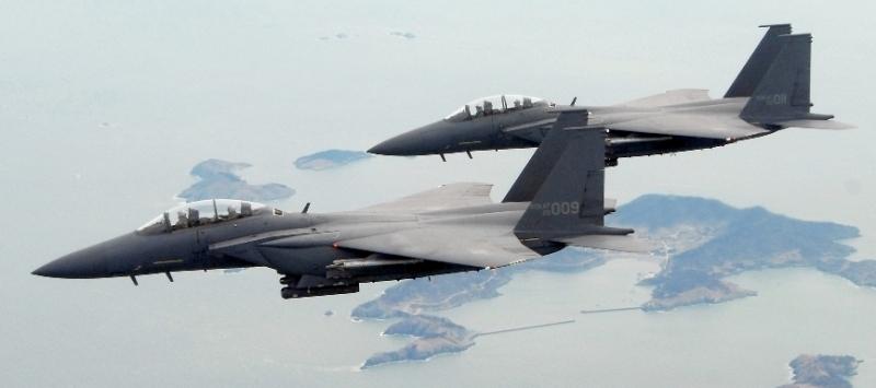 Rokaf F 15k Strike Eagle Air Force South Korea