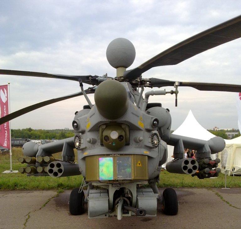 Mil Mi-28 Russische Helikopter Luchtmacht V Rusland